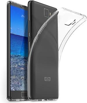 Elephone S8 Funda, Transparente Silicona Carcasa para Elephone S8 ...