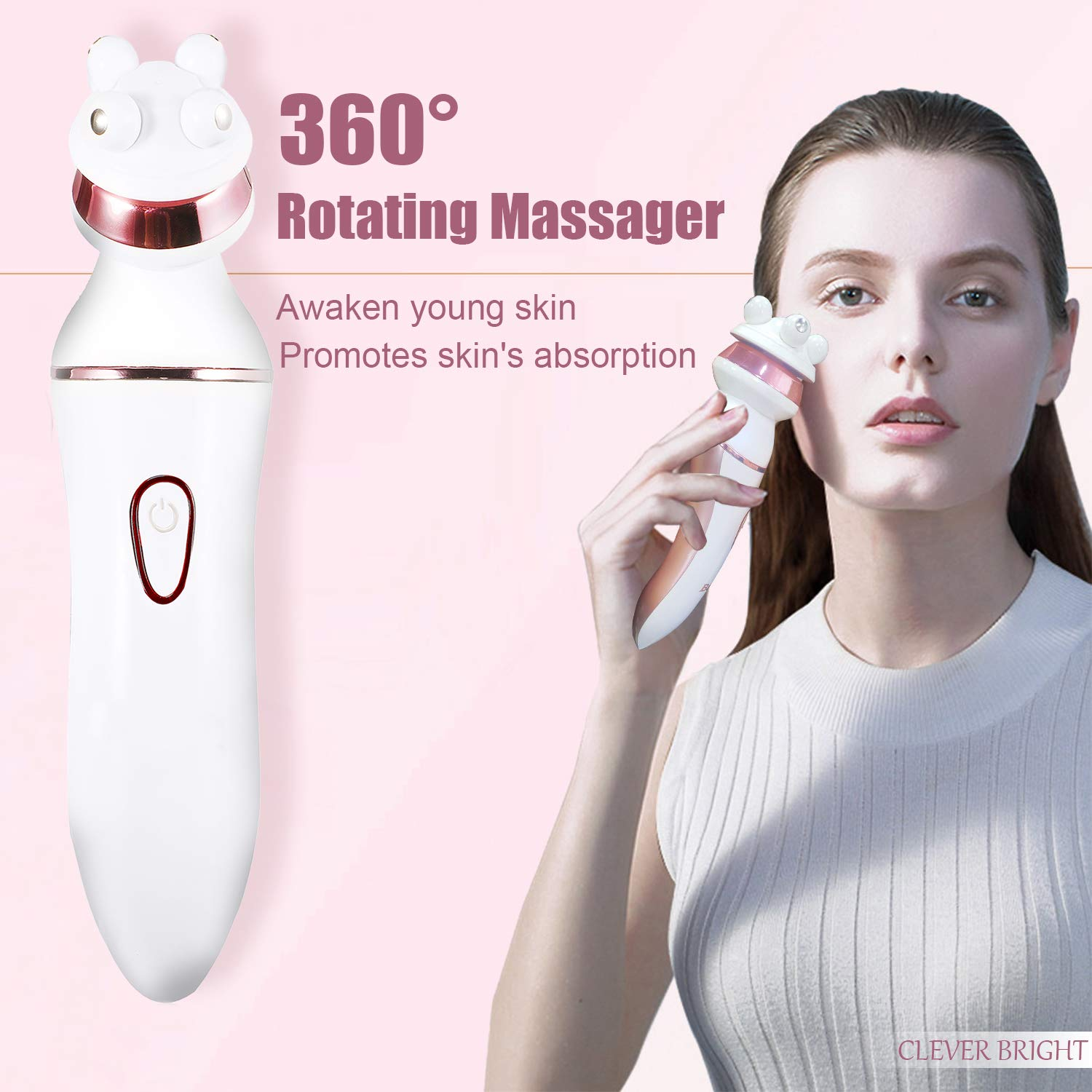 6-In-1 Electric Shaver for Women, Waterproof Ladies Razor Cordless Bikini Trimmer Set