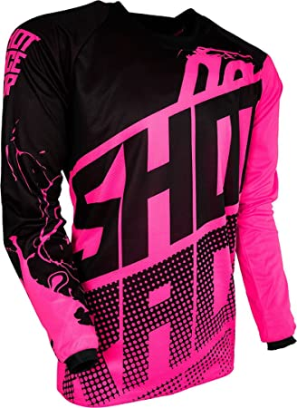 Shot Niños Cross Camiseta DEVO Venom Neon de Color Rosa XS: Amazon.es: Coche y moto