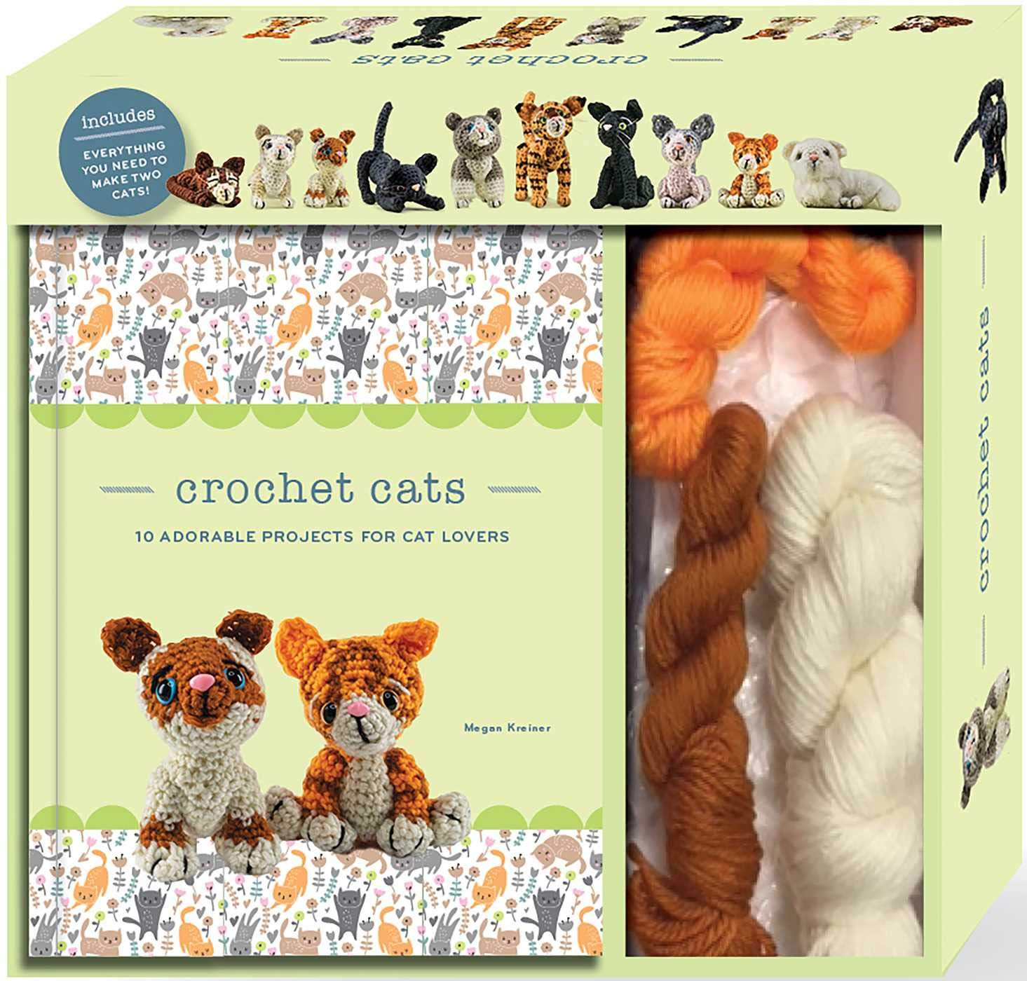 25 Fun And Easy Crochet Patterns For Your Cat - DIY & Crafts | 1400x1465