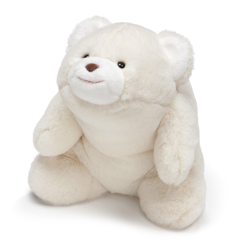 "GUND Snuffles Teddy Bear Stuffed Animal Plush, White, 10"""