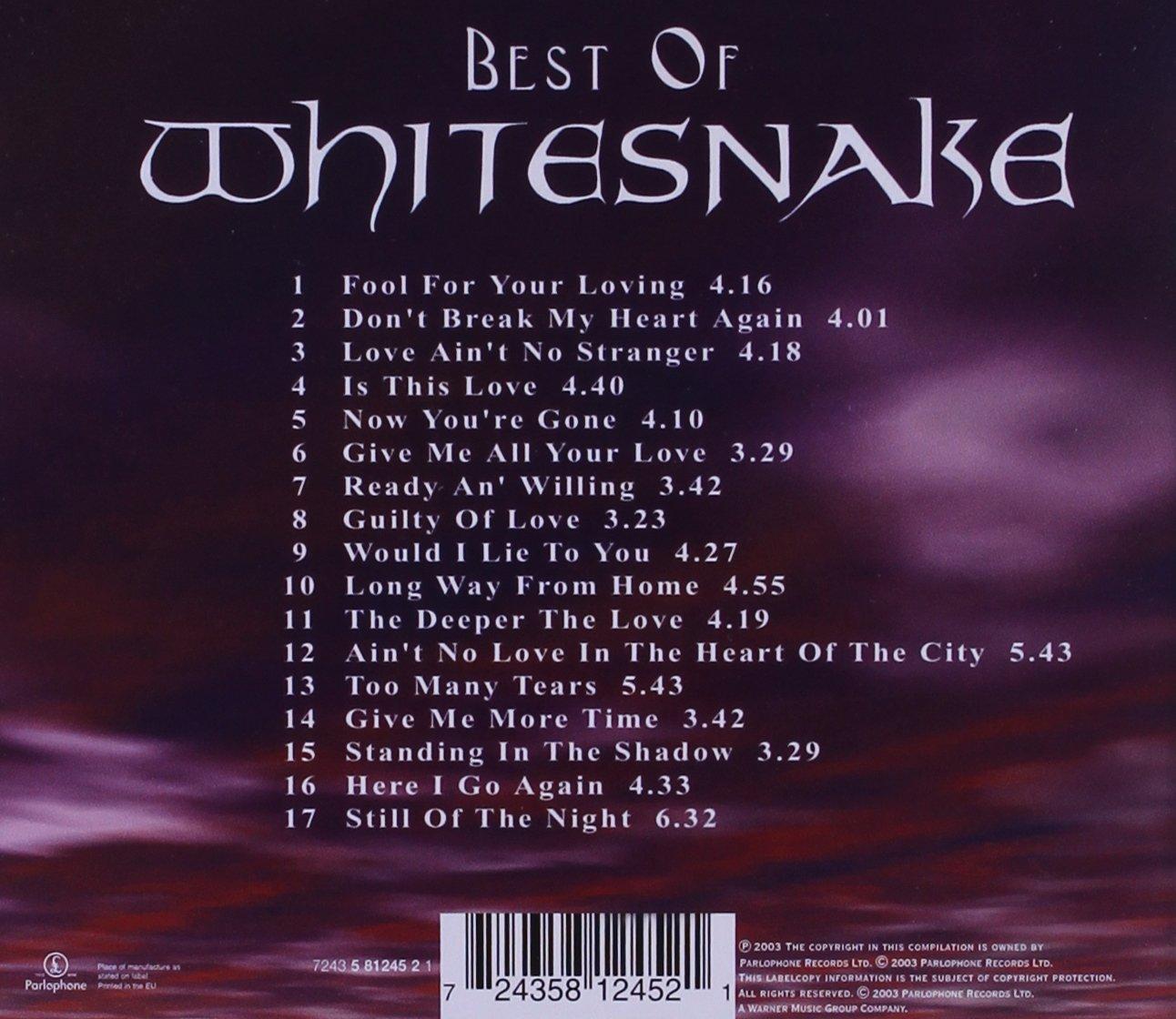 Whitesnake скачать mp3
