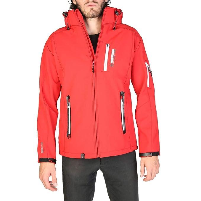 Geographical Norway Chaqueta Trava_Man Hombre Color: Rojo Talla: S: Amazon.es: Ropa y accesorios