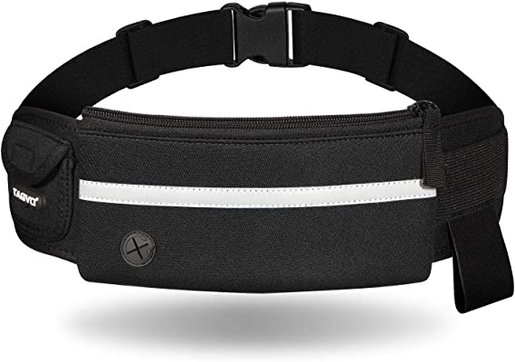 Eono Water Resistant Running Waist Pack with Adjustable Elastic Strap Large ...