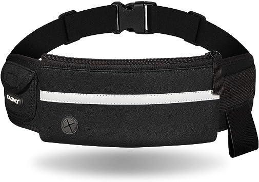 TAGVO Running Cintura Pack, con elástico de la Correa Apto para ...