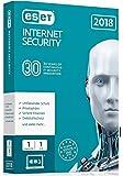 Esetイーセットセキュリティーソフト Internet Security 2018 Original 2年用1台【平行輸入盤】