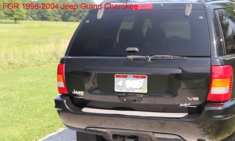 autoboo trasera parabrisas limpiaparabrisas brazo y para 1998 - 2004 Jeep Grand Cherokee: Amazon.es: Coche y moto