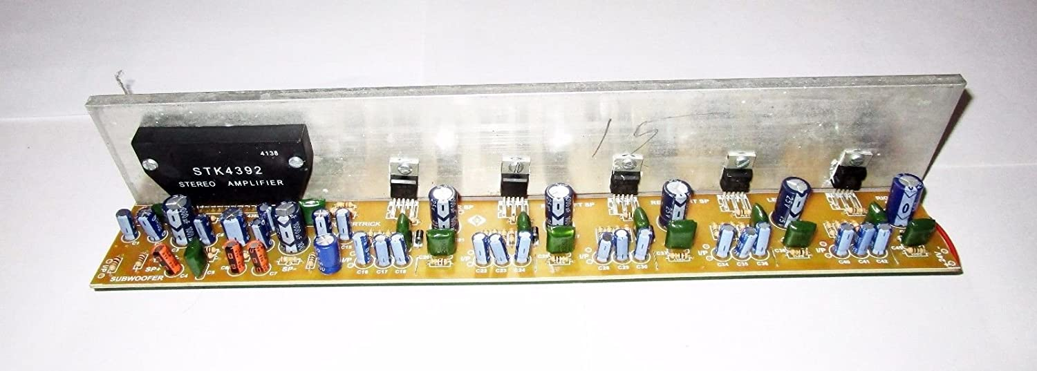 Power Track 30 W 51 Stereo Hi Fi Amplifier Board With 30w Based Tda 1521 Electronics