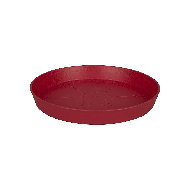 Elho loft urban saucer round 14 saucer - cranberry red 9200221470500