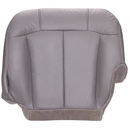 Chevy Silverado Replacement Seats >> The Seat Shop Driver Side 40 Portion Split Bench Bottom Replacement Seat Cover Medium Dark Pewter Gray Leather Compatible With 2000 2002