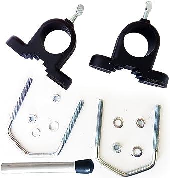 Perno en Forma de U/V Soporte de Montaje Conjunto de adaptadores para 1