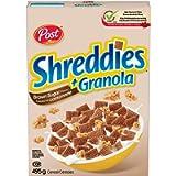 Post Shreddies Brown Sugar Flavour with Granola, 495 g