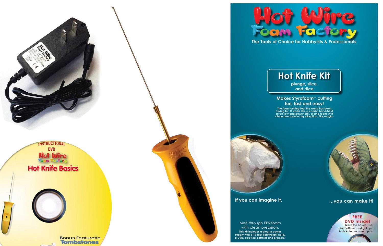 Amazon.com: Hot Wire Foam Factory Crafters Hot Knife Kit