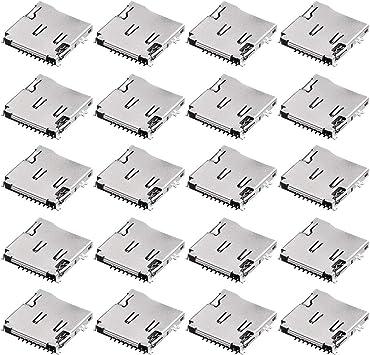 Amazon.com: ZealMax Micro SD (TF) Sujetador de zócalo de ...