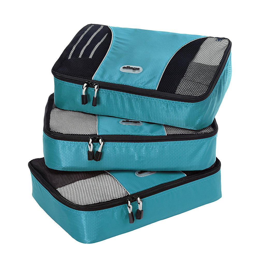 eBags Medium Packing Cubes - 3pc Set (Black) M48439