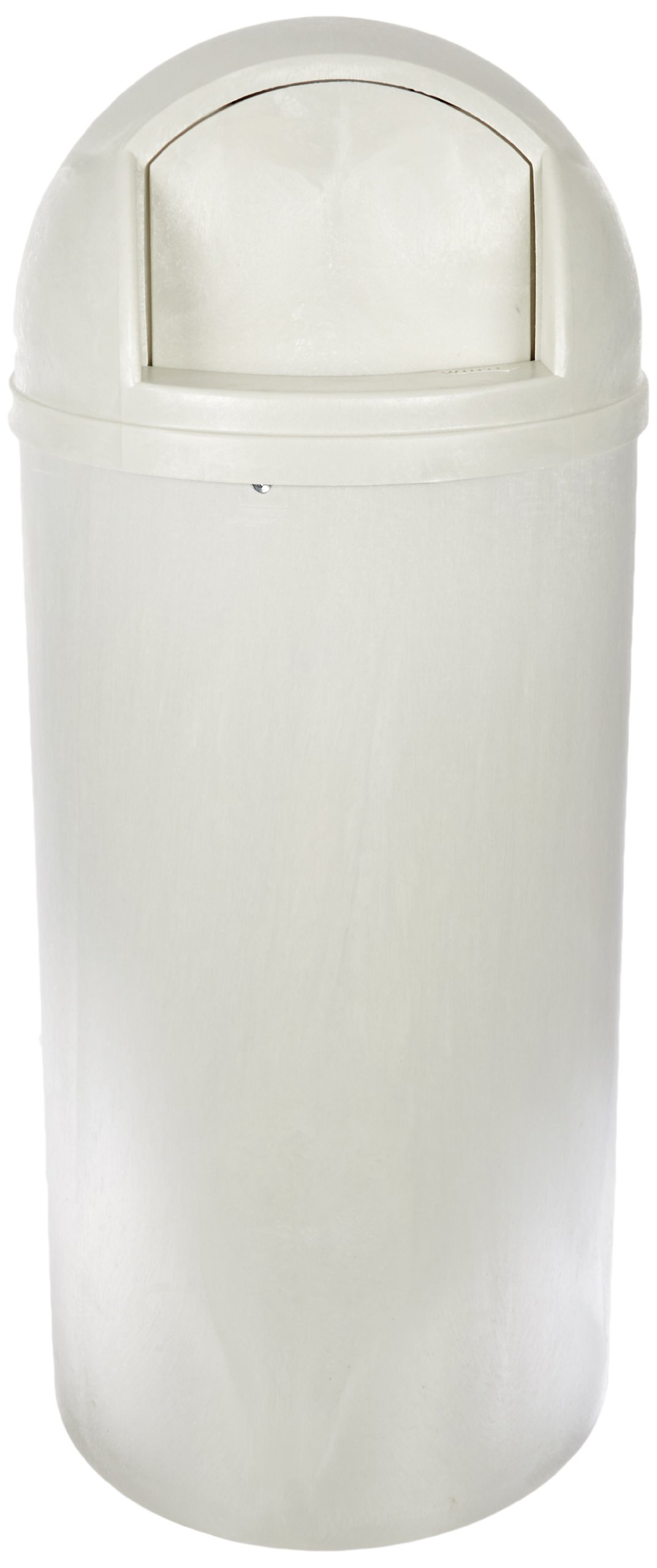 Impact 8870-17 Plastic Indoor and Outdoor Bullet Receptacle, 21-Gallon Capacity, 18-1/4'' Diameter x 40-3/4'' Height, Oyster by Impact Products