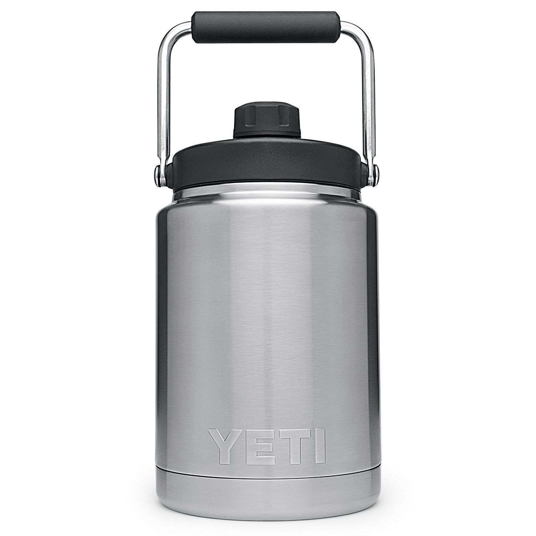 YETI Rambler ランブラー ハーフガロン 1/2ガロン ジャグ [並行輸入品]   B074FSHC9N