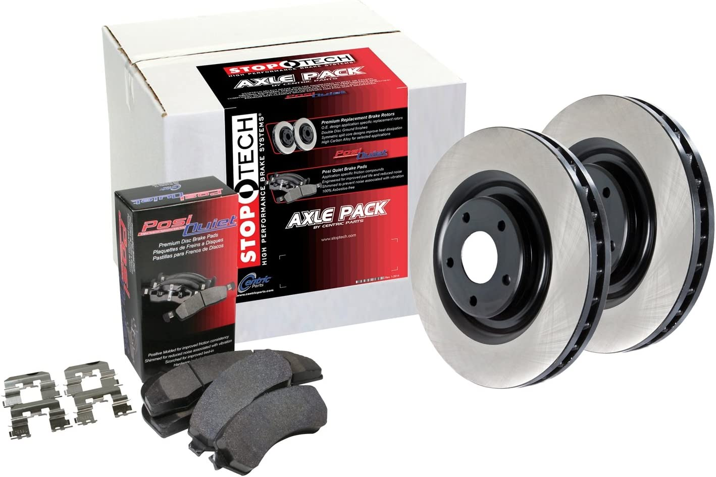 StopTech 909.40029 Front Brake Kit Preferred Pack