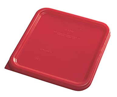 Rubbermaid Commercial Container Lid Red