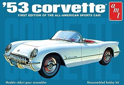 Amazon Amt 125 Scale 1953 Chevy Corvette Model Kit Toys Games