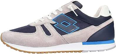 Lotto de los Hombres Zapatos de las Zapatillas de deporte de TOKIO, SHIBUYA Gris