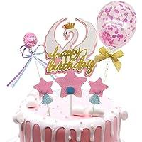 Allazone Topper Tarta Cumpleaños Decoración de Pasteles, 1
