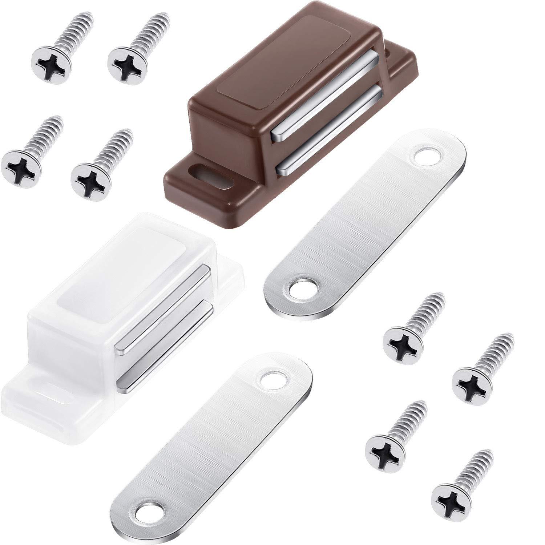 gejoy 12 Set magnetisch Schrank Catch Türverschluss mit installieren ...