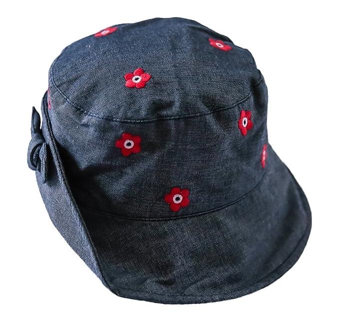 toyobuy bebé verano tela vaquera algodón Reversible Sol cubo sombrero gorra azul: Amazon.es: Ropa y accesorios