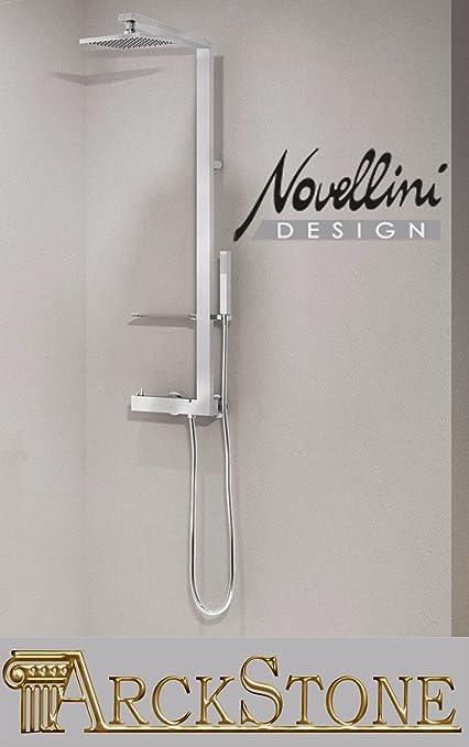 Novellini - Colonna doccia termostatico, 28 x 116: Amazon.it: Fai da te