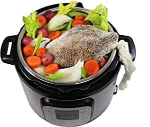 Regency Wraps Inst-A-Sock for All-in- One Multi-Cookers to Pressure, Slow Cook, Steam & Boil, 24