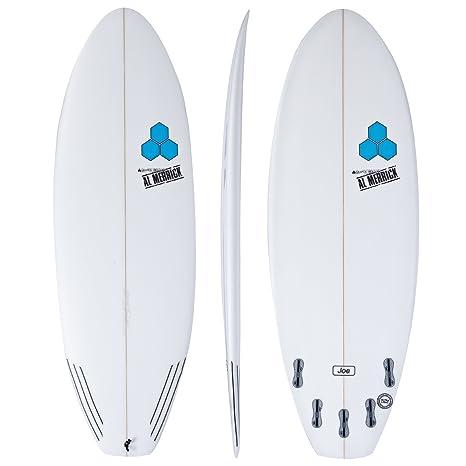 Channel Islands Tabla de surf de 5 aletas, 1,52 m, color blanco