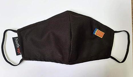 Mascarilla con bandera de Comunidade Valenciana Lavable y Reutilizable 100% Poliester, Pack 5: Amazon.es: Industria, empresas y ciencia