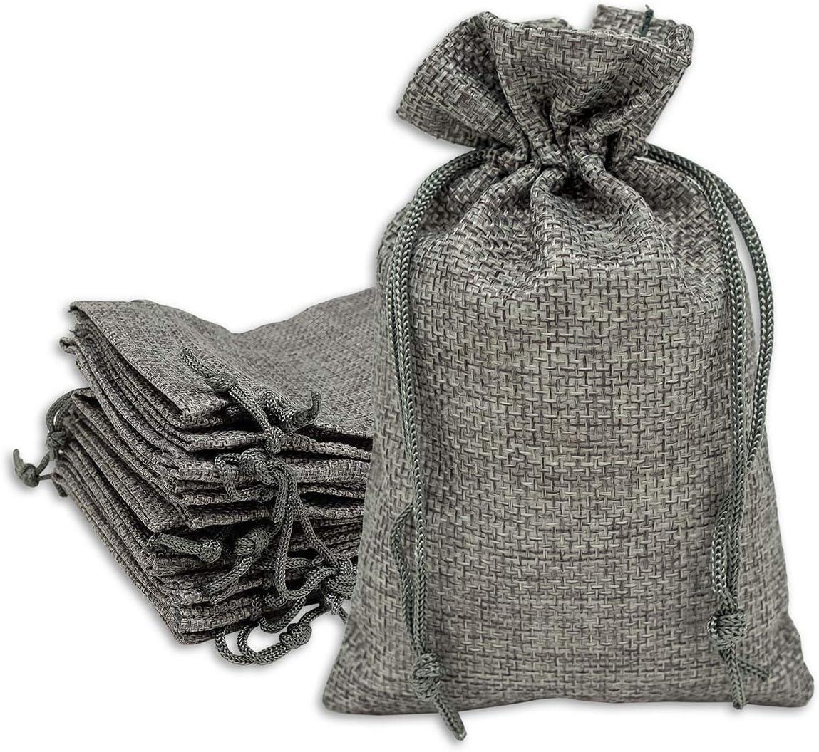 48 jewelry drawstring bags advent calendar bags,natural linen bags Natural Linen Drawstring Bags 3 x 4 drawstring bags