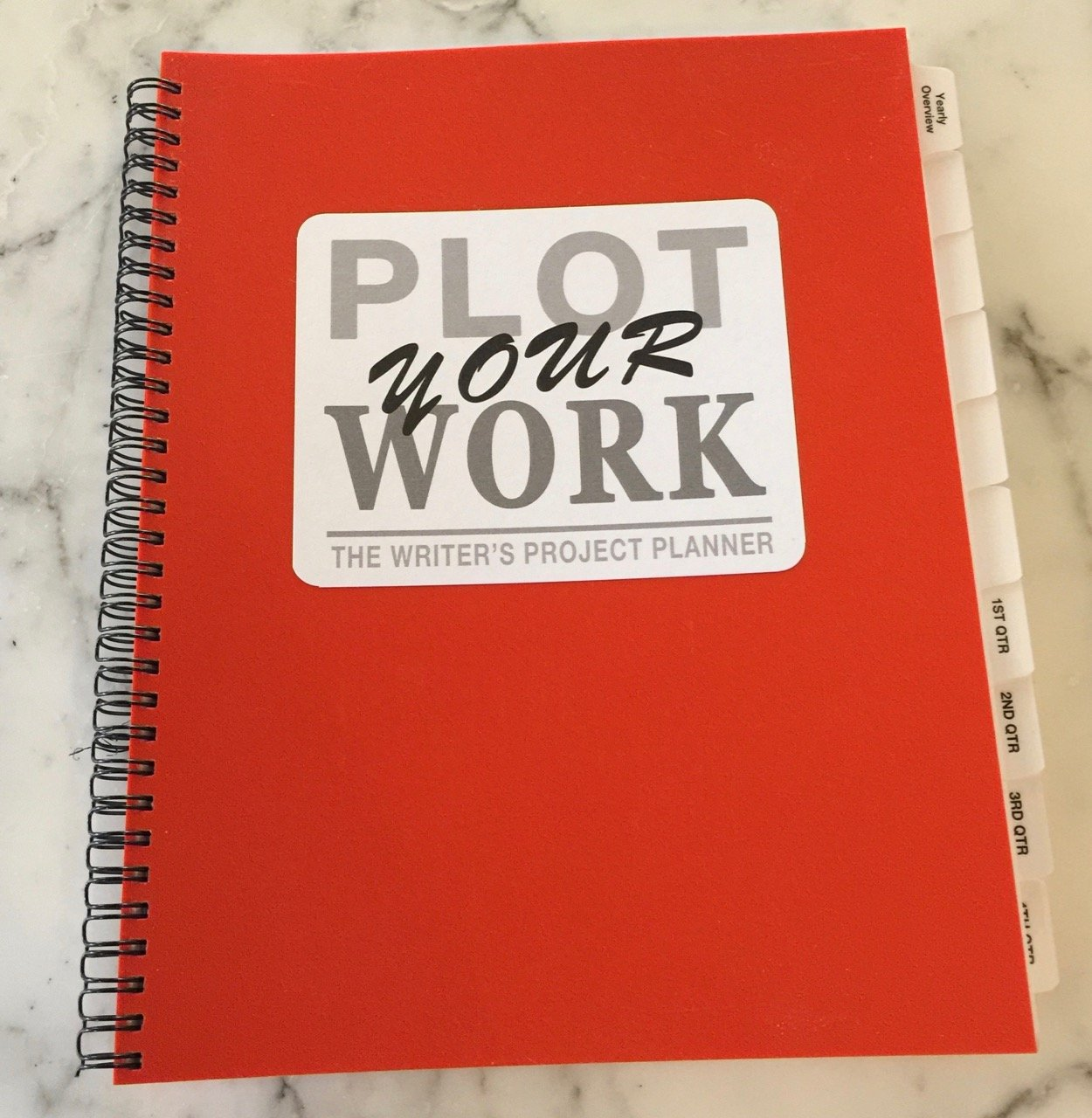 Plot Your Work (Standard Edition) by Red Hot Publishing