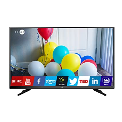 d6658e70ef5 Image Unavailable. Image not available for. Colour  Daiwa L42FVC4U 102 cm  (40 inches) Full HD LED Smart TV ...