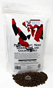 Aquatic Nutrition Inc. Premium Soft Moist Sinking Koi and Goldfish Diet
