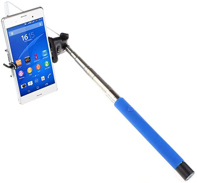 c3152b828d5e28 Selfie Stick. Camera Stick. Compatible with all iPhone, Samsung & Android  smartphones.