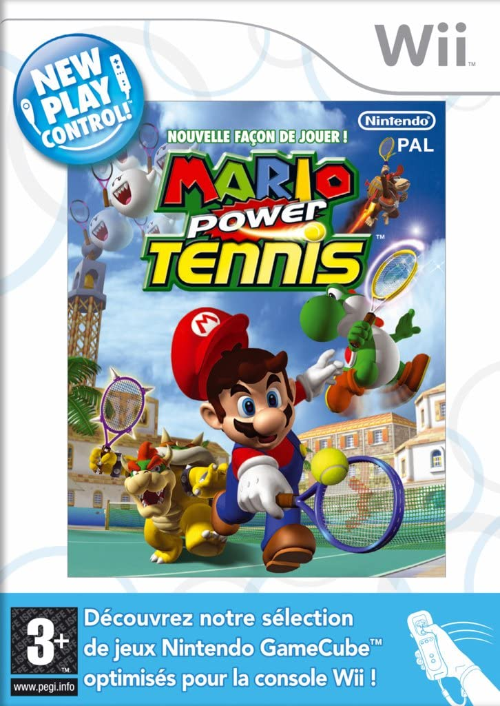 Nouvelle facon de jouer! Mario power tennis [Importación francesa]: Amazon.es: Videojuegos