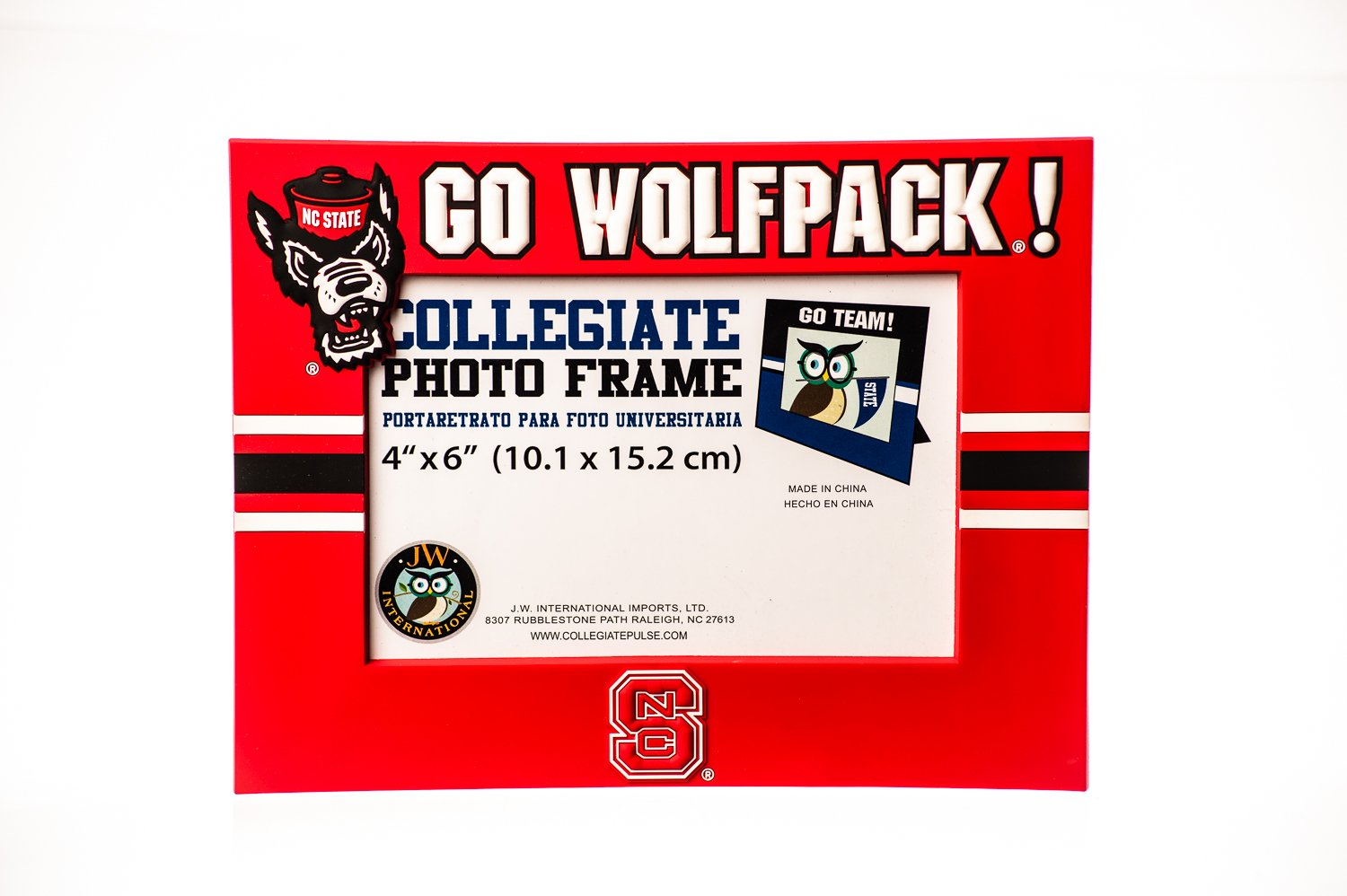 Amazon.com : Collegiate Pulse North Carolina State Wolfpack NCAA PVC Photo Frame : Sports & Outdoors