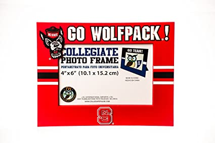 Collegiate Pulse North Carolina State Wolfpack NCAA PVC Photo Frame