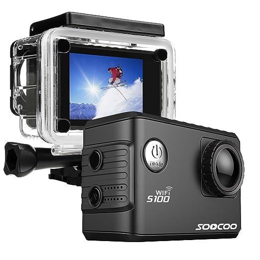 2 opinioni per ONEU Action Cam,20MP 4K Action Camera Full HD 1080P Fotocamera con Wifi GPS