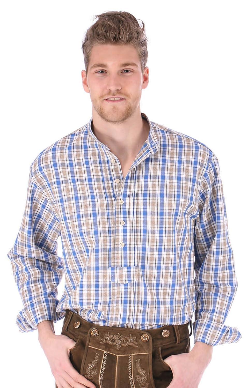 Trachtenhemd Denny blau
