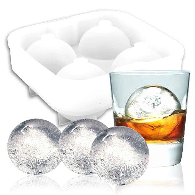 HAPPYNUTS para cubitos de hielo moldes y bandejas, de silicona de ...