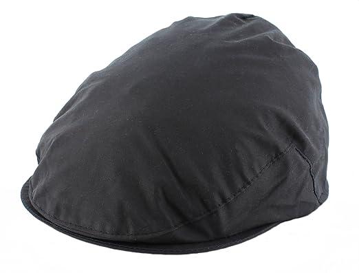 a5c5c02bcae6e6 The Hat Company Mens Waxed Flat Cap English made (WXC01): Amazon.co.uk:  Clothing