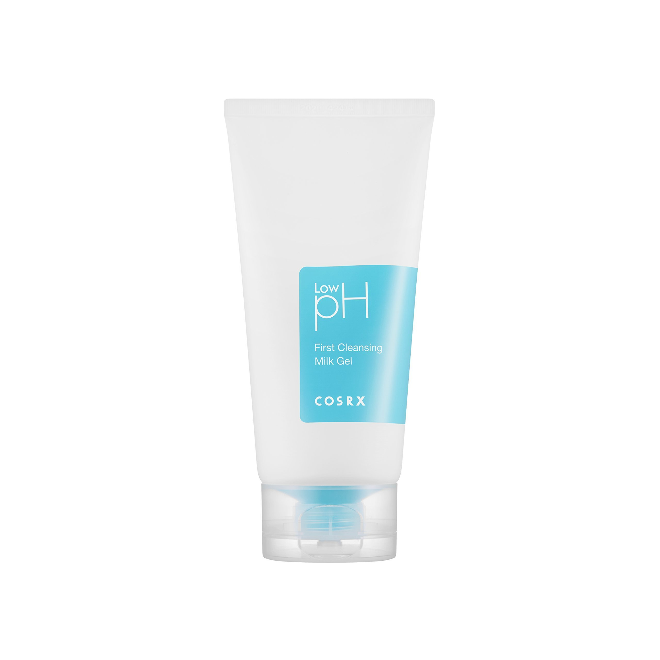 COSRX Low pH First Cleansing Milk Gel, 150 ml, 5.07 oz – Creamy Texture Make up Remover, for Sensitive Skin
