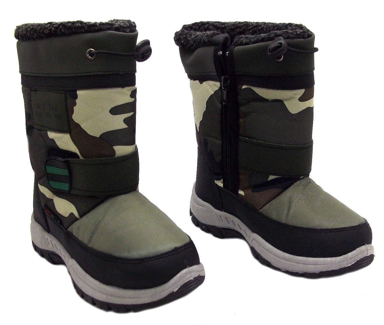 d0688ae50 Size 5 Rockstorm Boys Dobby Khaki Camouflage Zip Up Snow Winter ...