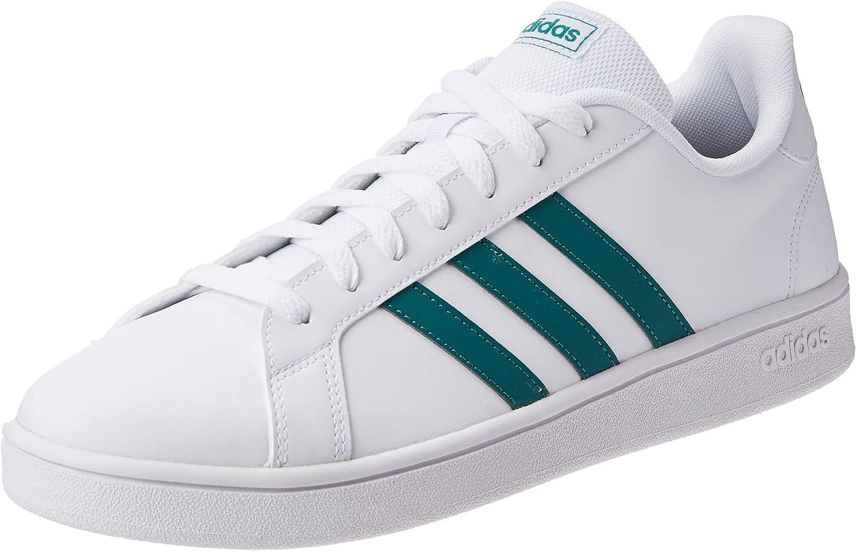 Calibre hostilidad costilla  Adidas Grand Court Base EE7905 Tenis para Hombre: Amazon.com.mx: Ropa,  Zapatos y Accesorios