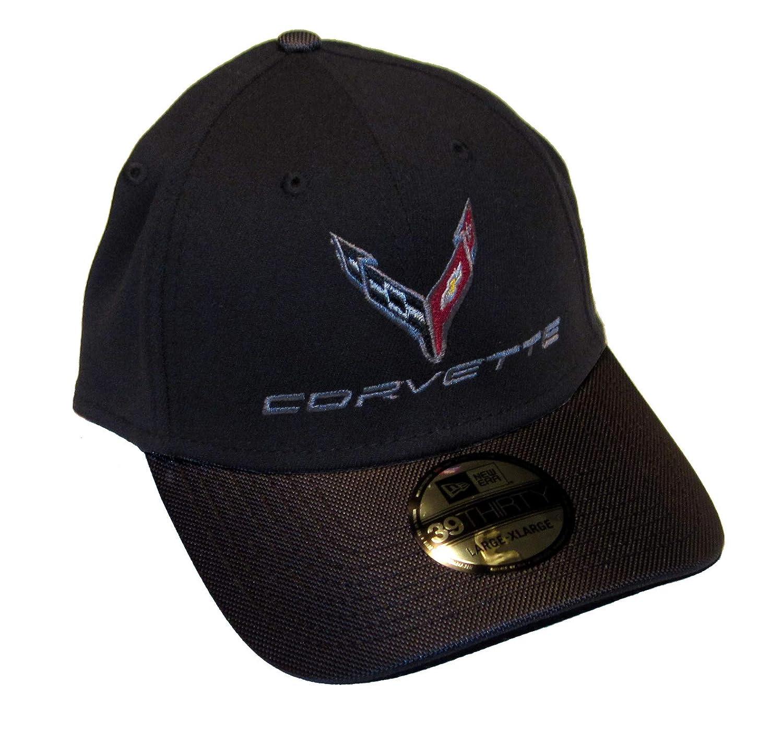 Bundle with Driving Style Decal Gregs Automotive Compatible Corvette C8 Hat Cap in Black