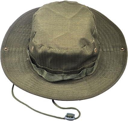 Boonie Military Bucket Fishing Camping Hunting Hat Wide Brim Bucket Mens Womens