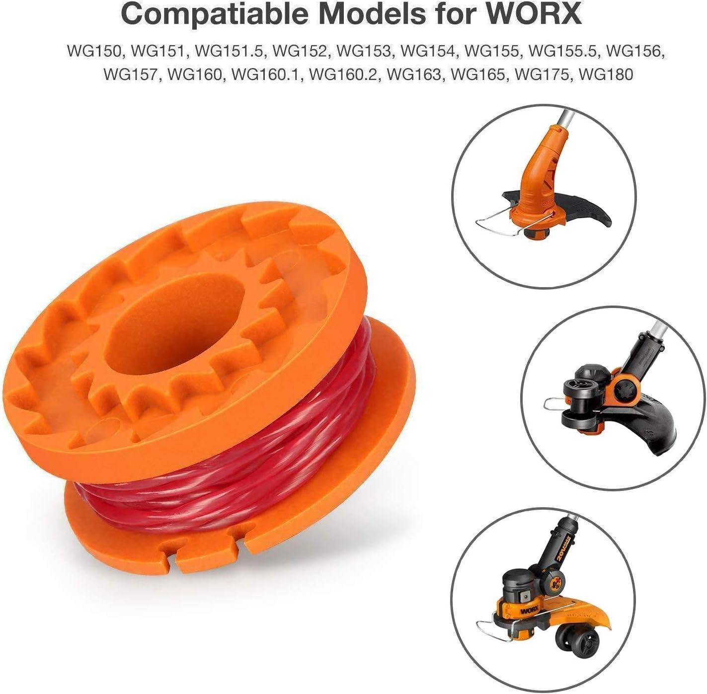 Trimmer Spool Cap Cover WG150 WG151 WG155 WG165 WG166 WG167 5 WA6531